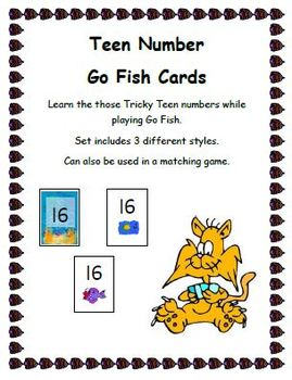 Go Fish Tricky Teens