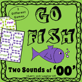 Go Fish - Two sounds of 'oo' Diphthong  (2 different games)