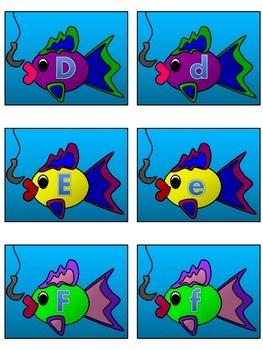 Go Fish! Uppercase-Lowercase
