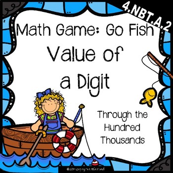 Go Fish: Value of a Digit {Math Game}