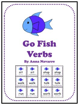Go Fish Verbs
