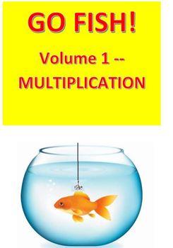 Go Fish!  Volume 1 -- Muliplication