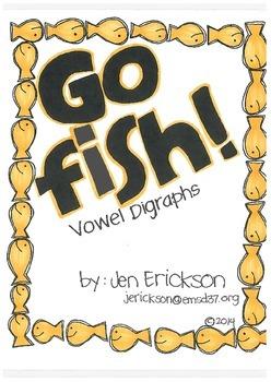 Go Fish! (Vowel Digraphs)
