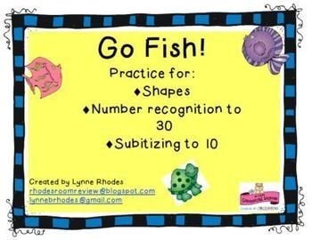 Go Fish Workstation FREEBIE