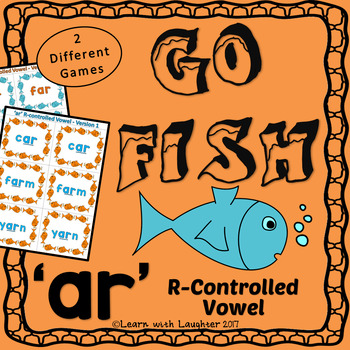 Go Fish - 'ar' R-controlled Vowels (2 different games)