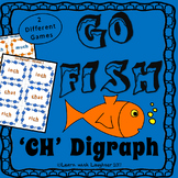 Go Fish - 'ch' Digraph (2 different games)