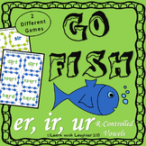 Go Fish - (er, ir, ur)  R-controlled Vowels (2 different games)