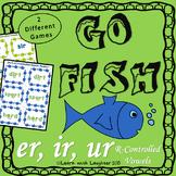 Go Fish - (er, ir, ur)  R-controlled Vowels (2 different games)