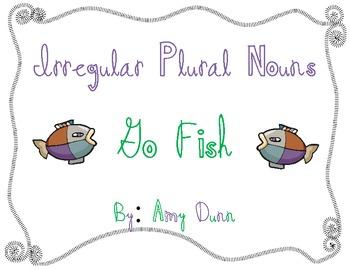 Go Fish for Irregular Plural Nouns