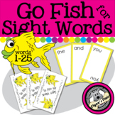 Go Fish for Sight Words Card Game - Words 1-25