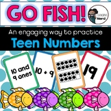 Go Fish for Teens (A multiple representation card game for numbers 11 - 19)
