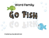 Go Fish for Word Family Practice
