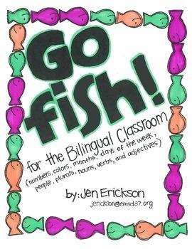 Go Fish! for the Bilingual (Spanish/English) Classroom
