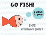 Go Fish! game for SH & S minimal pairs