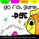Go Fish -ge/-dge Game