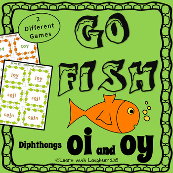 Go Fish - 'oi' and 'oy' Diphthongs  (2 different games)
