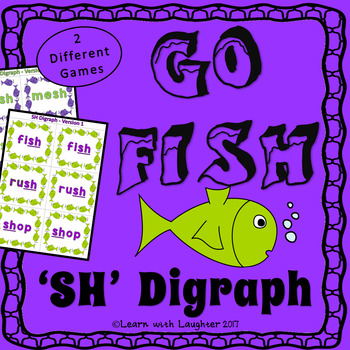 Go Fish - 'sh' Digraph (2 different games)