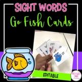 Editable Sight Word Go Fish Game