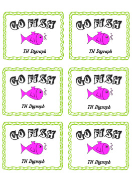 Go Fish - 'th' Digraph