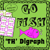 Go Fish - 'th' Digraph (2 different games)