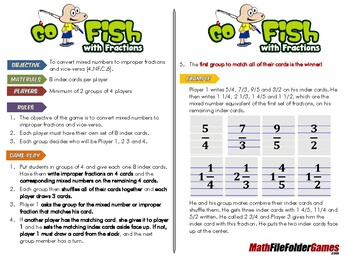 Go Fish with Fractions