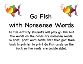 Go Fish with Nonsense words
