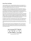 Go Fish Card Game Rules and Target Structures