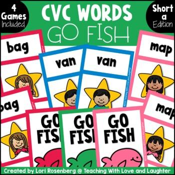 Go Fish...CVC Words {Short A}