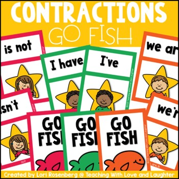 Go Fish...Contractions
