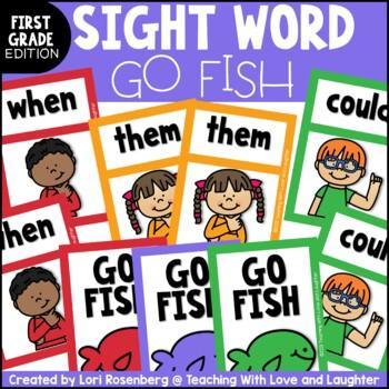 Go Fish...First Grade Sight Words