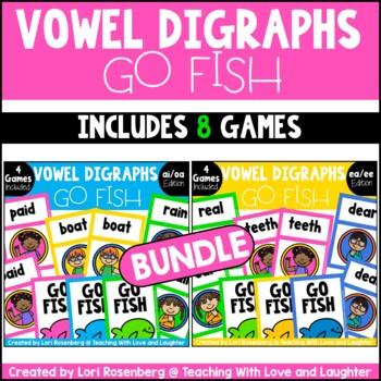 Go Fish...Vowel Digraph Bundle