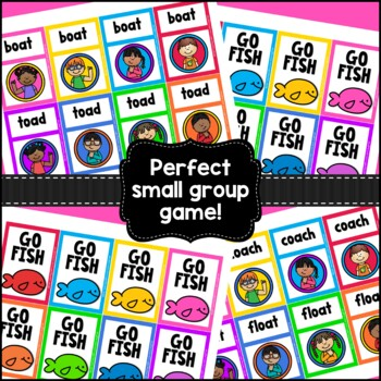 Go Fish...Vowel Digraphs {AI and OA}