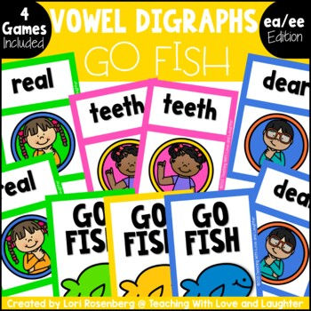 Go Fish...Vowel Digraphs {EA and EE}