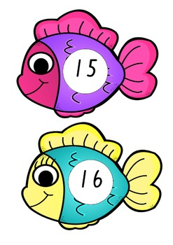 Go Fishing! Number Recognition Activity