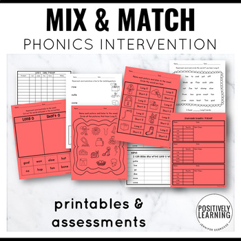 Phonics Intervention Games Long O