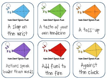 Go Fly a Kite: Idioms and Other Sayings