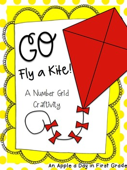 Go Fly a Kite!  Number Grid Craftivity
