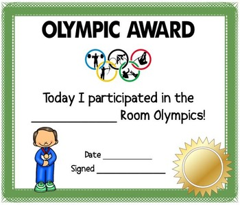 Go For Gold! An Olympics in Rio EYLF Resource Pack