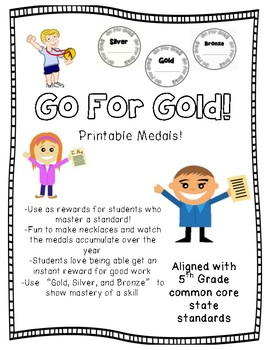 Go For Gold Medals!