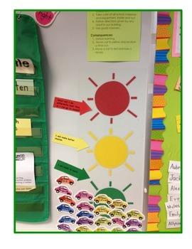 Go For Green Stop Light Behavior Plan