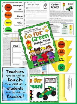 Go for Green Stoplight Classroom Management System