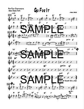 Go For It- Improvisation For Jazz Soloists