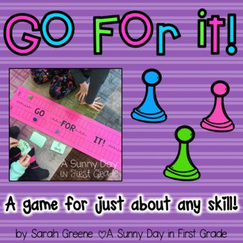 Go For It! (a game board for any skill!)