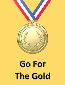 Go For The Gold in Microsoft Word – Used For a Race or the Olympics