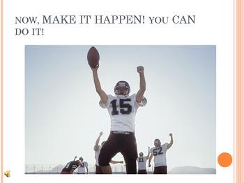 Go For the Goal-d! PowerPoint Presentation