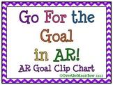 Go For the Goal in AR! Chevron AR Goal Clip Chart