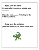 Go Gecko Fluency Game