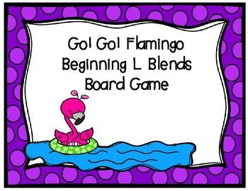 Go! Go! Flamingo! L Blends Activities