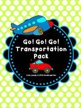 Go! Go! Go! Transportation Pack