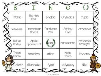 Go Greek! 4th Grade Mythology Allusion Activity Bundle